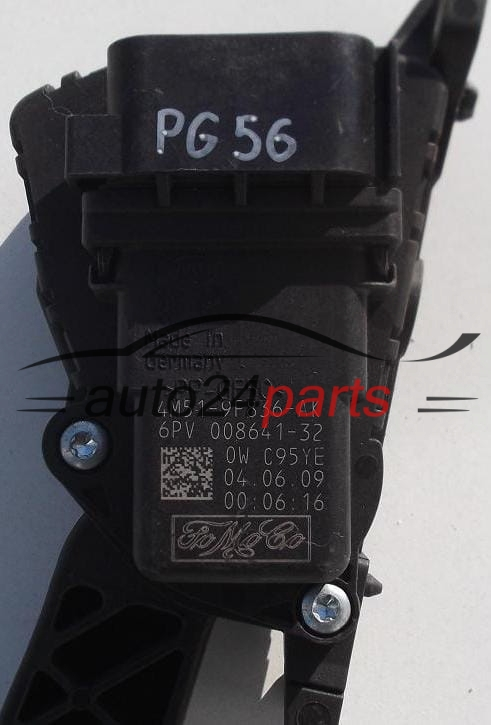 Accelerator Pedal Electric Throttle Ford Focus 4m51 9f836