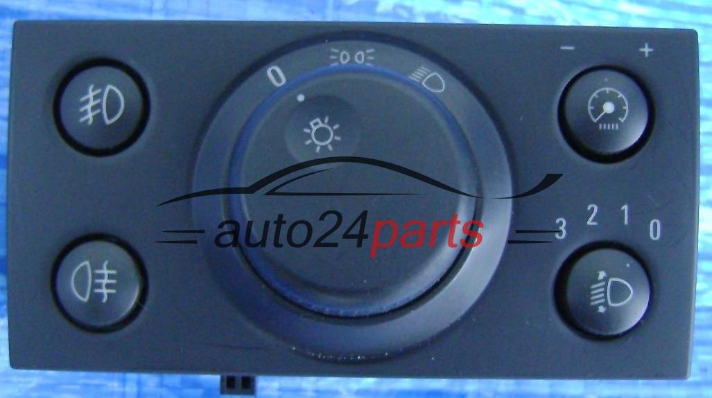 Conmutador Interruptor De Luces Opel Vectra C Signum Con Halogenos