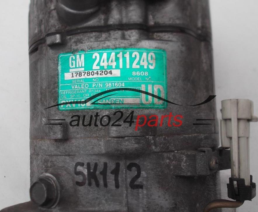 Compresor De Aire Acondicionado Opel Vectra C Signum Sanden Pxv16  Gm 24411249 Ud  8608
