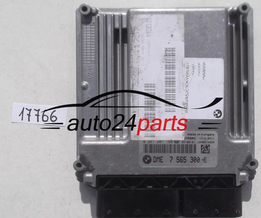 Ecu Engine Controller Bmw E90 318i 320i 2 0 Bosch 0 261 201 160 0261201160 Dme 7 565 300 7565300 Auto24parts
