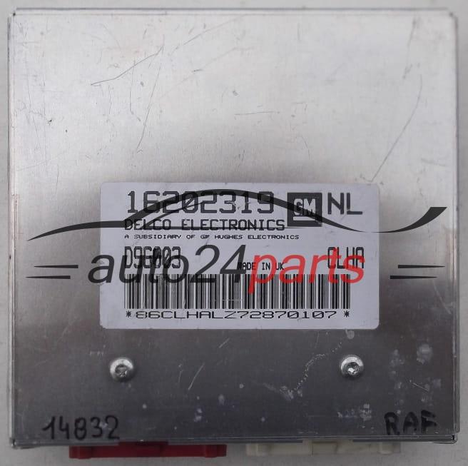 bufh Opel Vectra B 1,6 Moteur taxe périphérique 16202319 d96003 DELCO
