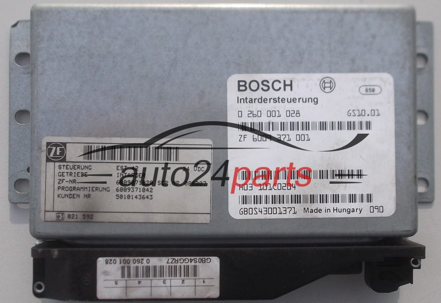 Ecu Automatic Gearbox Intarder Iveco Stralis Bosch 0 260