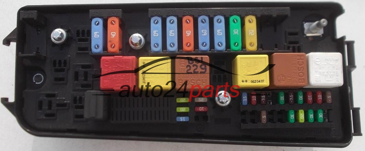 FUSE RELAY BOX ELECTRICAL COMFORT CONTROL MODULE OPEL VECTRA C SIGNUM on