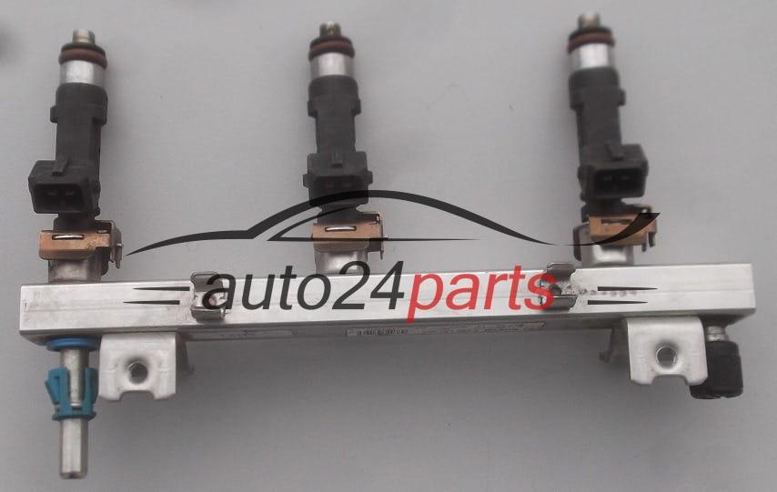 Fuel injector and fuel rail petrol OPEL ASTRA CORSA TIGRA MERIVA Z10XEP  BOSCH 0 280 158 501, 0280158501