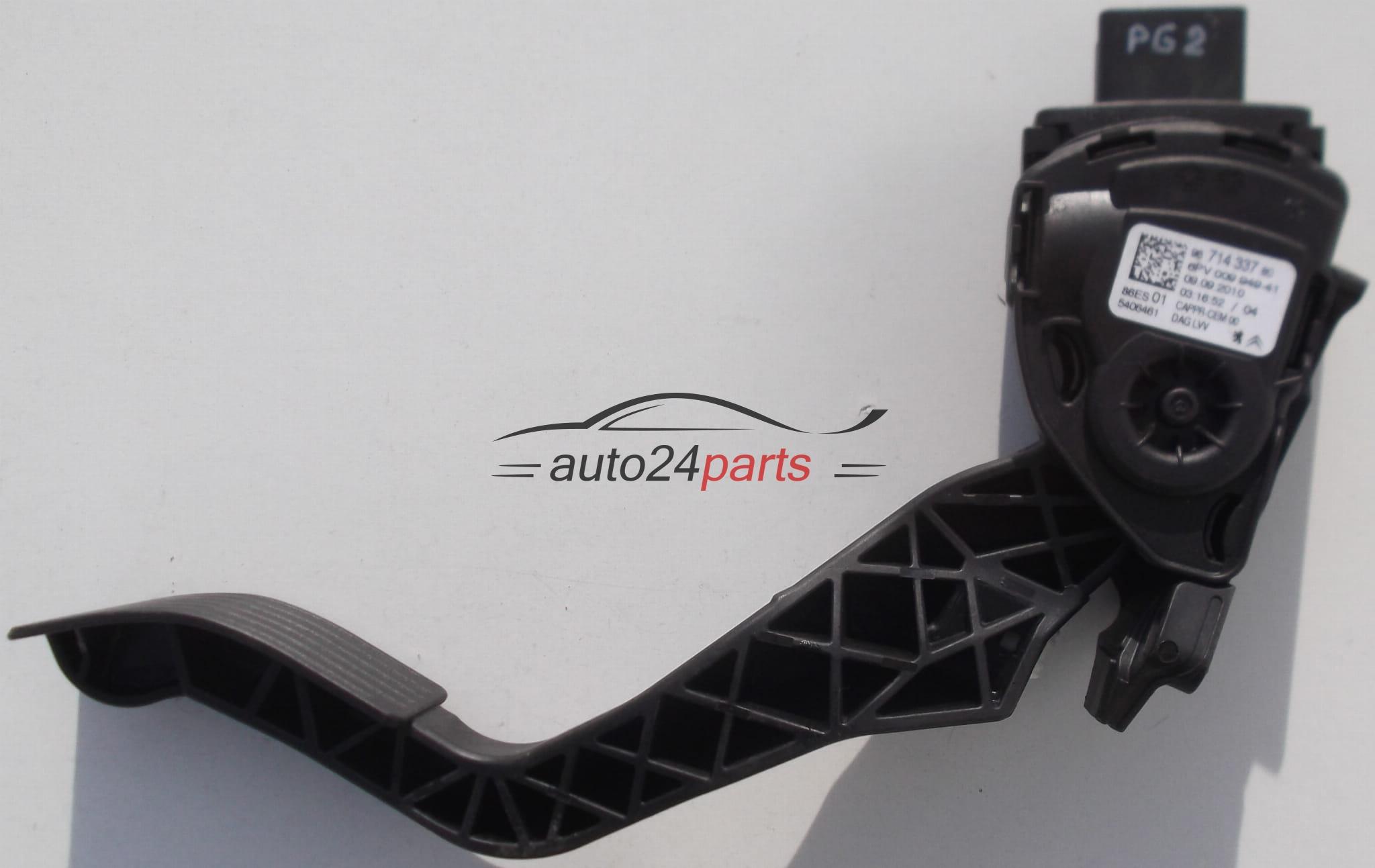 Peugeot Citroën potentiomètre pédale d/'accélérateur avec capteur 9671433780