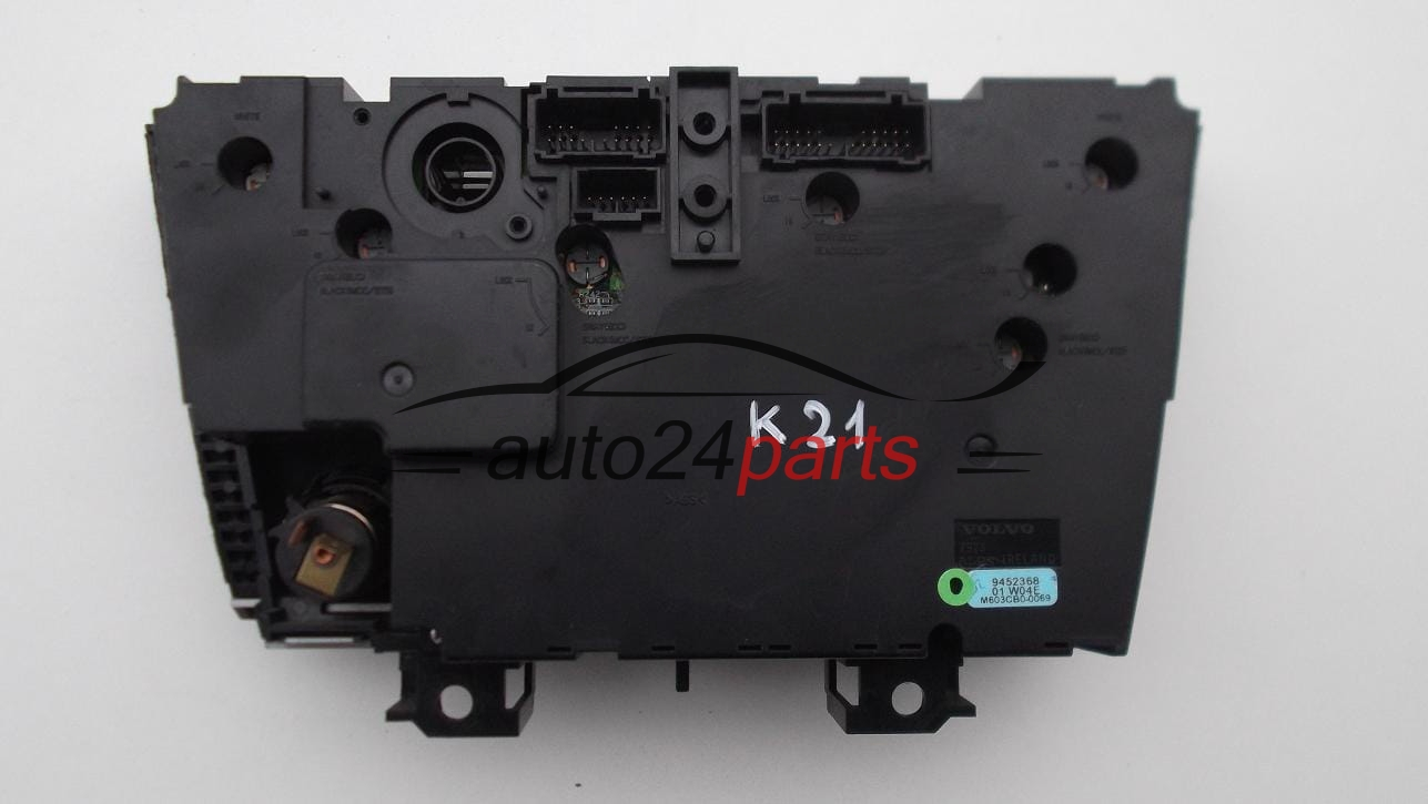 Used Volvo S60 >> HEATING AND AIR CONDITIONING CONTROL PANEL SWITCH CLIMATRONIC VOLVO S60 V70 S80 XC70 9452368 ...