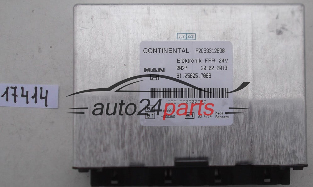 Ecu Engine Controller Man Tga Continental A2c53312838  81