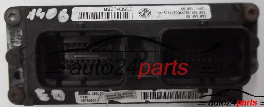 Auto-codage Vierge unité Plug /& Play Fiat Punto 1.2 ECU IAW59F.M3//HW303