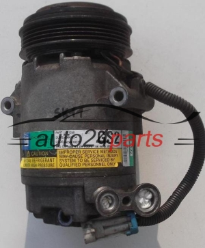COMPRESSOR AIR CONDITIONING CON AIR CONDITIONING PUMP OPEL AGILA 1.0, 1.2 13197255 GS2, DELPHI 7255