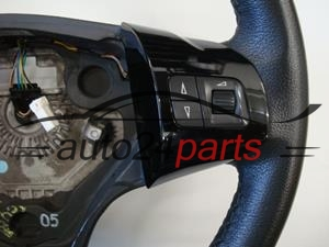 STEERING WHEEL LEATHER MULTIFUNKTION OPEL CORSA 2006