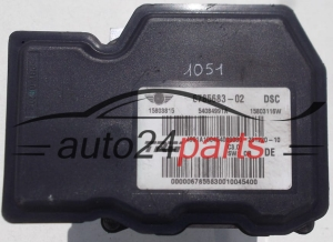 ABS PUMP MINI MINI COOPER 6785683-02 / 678568302 / 15803815 / 54084991A / 15803116W