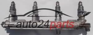 Fuel injector and fuel rail petrol OPEL ASTRA G VECTR B ZAFIRA A Z22SE GM 12 565 474, 12565474