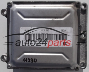 CALCULATEUR MOTEUR  OPEL ASTRA VECTRA ZAFIRA 2.2 Z22SE 09391283 DSCW, 12202143, 12 202 143  (1) (1) (1)
