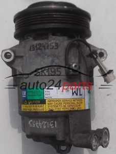 COMPRESSOR AIR CONDITIONING CON AIR CONDITIONING PUMP OPEL ZAFIRA 1.9 CDTI GM 13124753 WL, 383601234