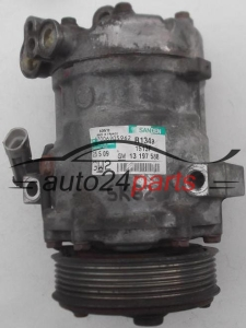 COMPRESSOR AIR CONDITIONING CON AIR CONDITIONING PUMP OPEL CORSA C COMBO MERIVA 1.3 CDTI Y13DT Z13DT Z13DTJ SANDEN SD6V10, GM 13 197 538 GW2, 13197538 GW2, 1513F