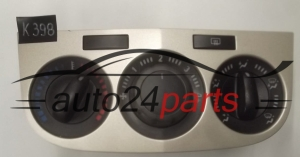 HEATING AND AIR CONDITIONING CONTROL PANEL SWITCH OPEL ASTRA CORSA D 466119570 5.E09.401.0.0 5E094010
