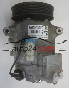 COMPRESSOR AIR CONDITIONING CON AIR CONDITIONING PUMP OPEL 1.6 A16XER 1.8 A18XER INSIGNIA 13250609 ZM2, 13262843, 6854113