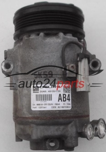 COMPRESSOR AIR CONDITIONING CON AIR CONDITIONING PUMP OPEL ASTRA H ZAFIRA GM 13297441 AB4, DELPHI 401351739, 9986181