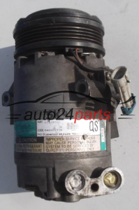 COMPRESSOR AIR CONDITIONING CON AIR CONDITIONING PUMP OPEL ASTRA 09174396 QS, GM 042800736, B0401059, DELPHI 4396