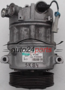 COMPRESSOR AIR CONDITIONING CON AIR CONDITIONING PUMP OPEL INSIGNIA 2.0 CDTI SANDEN PXE16, GM P13232307 BK3, 1605F