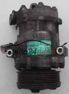 COMPRESSOR AIR CONDITIONING CON AIR CONDITIONING PUMP OPEL ASTRA G 2.0 DTI SANDEN SD6V12 GM 09132922, 1418F