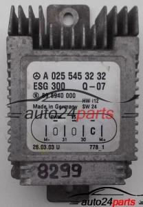 CALCULATEUR VENTILATEURS MERCEDES A-CLASSE A 025 545 32 32, A 025 545 32 32, 89 8940 000, 898940000
