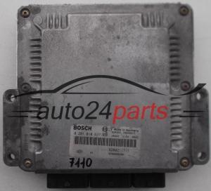 Renault Laguna Motorsteuergerät 0281011103 Bosch 8200211726