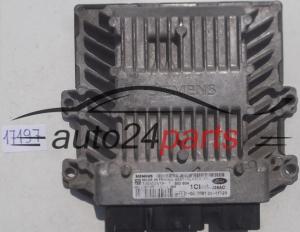 Motorsteuergerät Ford Fiesta 6S61-12A650-AB 6S6112A650AB 5WS40241BT SID 804
