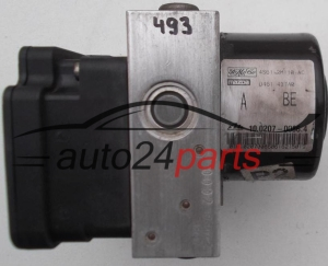 POMPE HYDRAULIQUE ET CALCULATEUR d'ABS FORD FIESTA FUSION FoMoCo 4S61-2M110-AC, 4S612M110AC, ATE 10.0207-0086.4, 10020700864, 10.0970-0133.3, 10097001333
