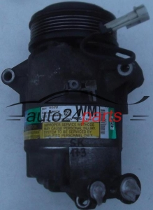 COMPRESSOR AIR CONDITIONING CON AIR CONDITIONING PUMP OPEL ASTRA H ZAFIRA B 1.9 CDTI Z19DT Z19DTL Z19DTH Z19DTJ GM 13124752 WM, DELPHI 4752, 383601234, 9986181