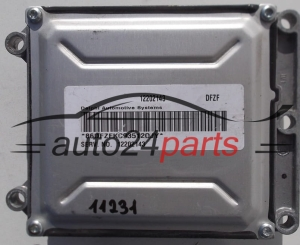 CALCULATEUR MOTEUR  OPEL ASTRA VECTRA ZAFIRA 2.2 Z22SE 12202143 DFZF  (1)