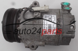 COMPRESSOR AIR CONDITIONING CON AIR CONDITIONING PUMP OPEL ASTRA TIGRA MERIVA 1.4 16V GM 13286083 UK3, DELPHI 401351739