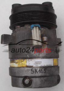 COMPRESSOR AIR CONDITIONING CON AIR CONDITIONING PUMP OPEL OMEGA C  2.2 Z22XE Y22XE DELPHI 24432574, 1854145, 082821541