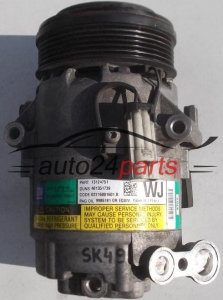 COMPRESSOR AIR CONDITIONING CON AIR CONDITIONING PUMP OPEL ASTRA H ZAFIRA B 1.7 CDTI GM 13124751 WJ, 383601234, DELPHI 4751