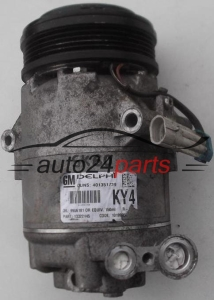 COMPRESSOR AIR CONDITIONING CON AIR CONDITIONING PUMP OPEL ASTRA ZAFIRA GM 13322145 KY4, DELPHI 401351739, 9986181