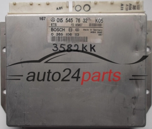 ABS STEROWNIK ABS ETS MERCEDES W202 W210 BOSCH 0265106113, 0 265 106 113, 0155457632, A 015 545 76 32, A0155457632 -  4668, 14706