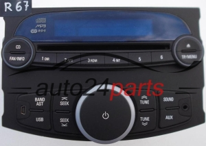 RADIO CD MP3 CHEVROLET 95 986 359 / 95986359 / AGC9113RM -