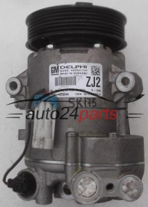 COMPRESSOR AIR CONDITIONING CON AIR CONDITIONING PUMP OPEL ASTRA J ZAFIRA B 1.7 CDTI A17DTR DELPHI 13250606 ZJ2, 401351739