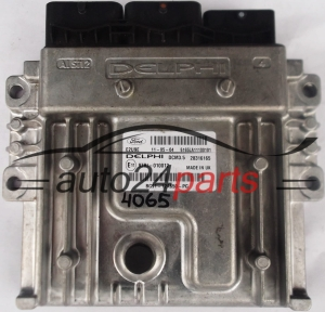 CALCULATEUR MOTEUR FORD BG9112A650PG, BG91-12A650-PG, DELPHI DCM3.5 28316165