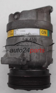 COMPRESSOR AIR CONDITIONING CON AIR CONDITIONING PUMP OPEL ASTRA G VECTRA B SAE J639 DELPHI 1135324 QN, 90443840