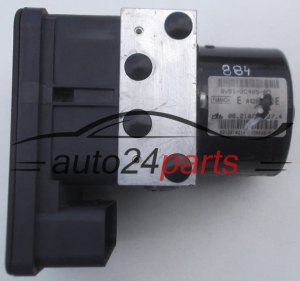 POMPE HYDRAULIQUE ET CALCULATEUR d'ABS  FORD FIESTA FoMoCo 8V51-2C405-AD, 8V512C405AD, ATE 06.2102-1467.4, 06210214674, 06.2109-5619.3, 06210956193
