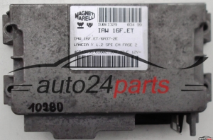CALCULATEUR MOTEUR LANCIA Y YPSILON 1.2 IAW16FET, IAW16FET6A37-2E, 61602.108.02, 6160210802, 46545155