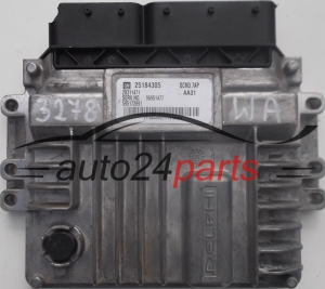 CALCULATEUR MOTEUR 2.2 CDTI OPEL ANTARA 25184305, 28311471, 96951477, 595172891 DCM3.7AP AA31