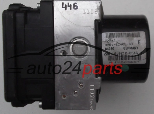 POMPE HYDRAULIQUE ET CALCULATEUR d'ABS FORD C-MAX FoMoCo BV61-2C405-AD, ATE 10.0212-0546.4