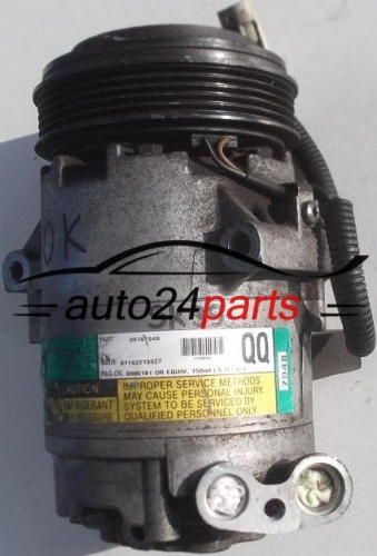 COMPRESSOR AIR CONDITIONING CON AIR CONDITIONING PUMP OPEL AGILA 1.0 Z10XE Z10XEP 1.2 Z12XE Z12XEP 09167048 QQ, GM 090101224, DELPHI 7048