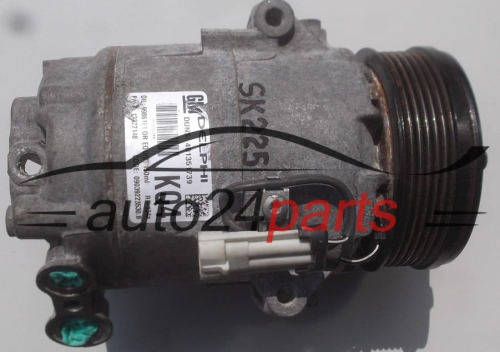 COMPRESSOR AIR CONDITIONING CON AIR CONDITIONING PUMP  OPEL ASTRA 1.7 CDTI 13322148 KQ4